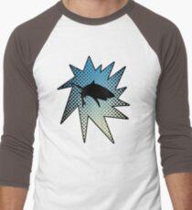 Kapow Comic Shark Art Deep Ocean Undersea Graphic Design T-Shirt
