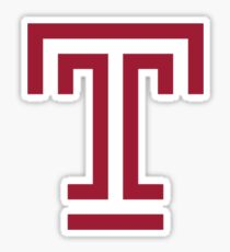 Temple University Sticker