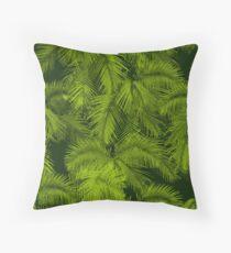 Cojín Makana Palms Hawaiian Tropical Print - Verde