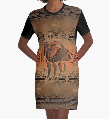 Bear Spirit Graphic T-Shirt Dress