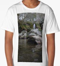 Welsh Waterfall Long T-Shirt