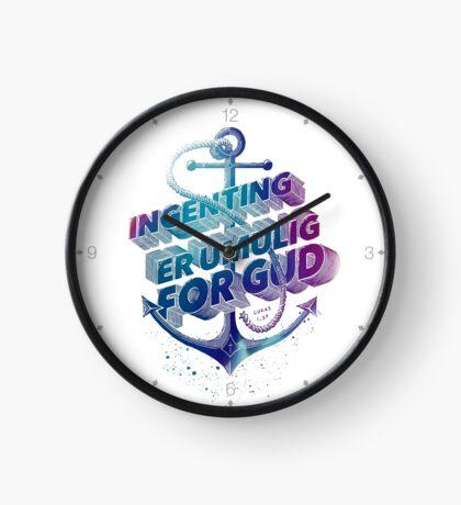 Ingenting er umulig for Gud Clock