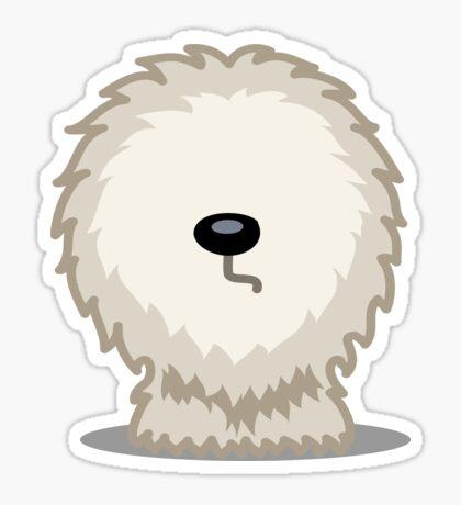 Old English Sheepdog tshirt - Dog Gifts for Sheepdog and Sheep Dog Lovers Sticker