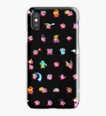 Kirby Pattern iPhone Case/Skin