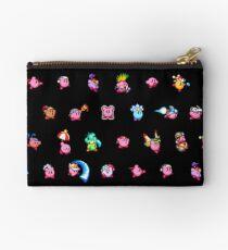 Kirby Pattern Zipper Pouch