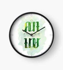 Alt er mulig for den som tror Clock