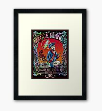 Dead Company at TD Boston Garden,  Nov 17 - 19, 2017 Hight Quality Poster  Framed Print