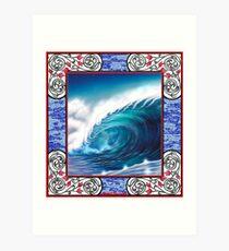 wavescape Art Print