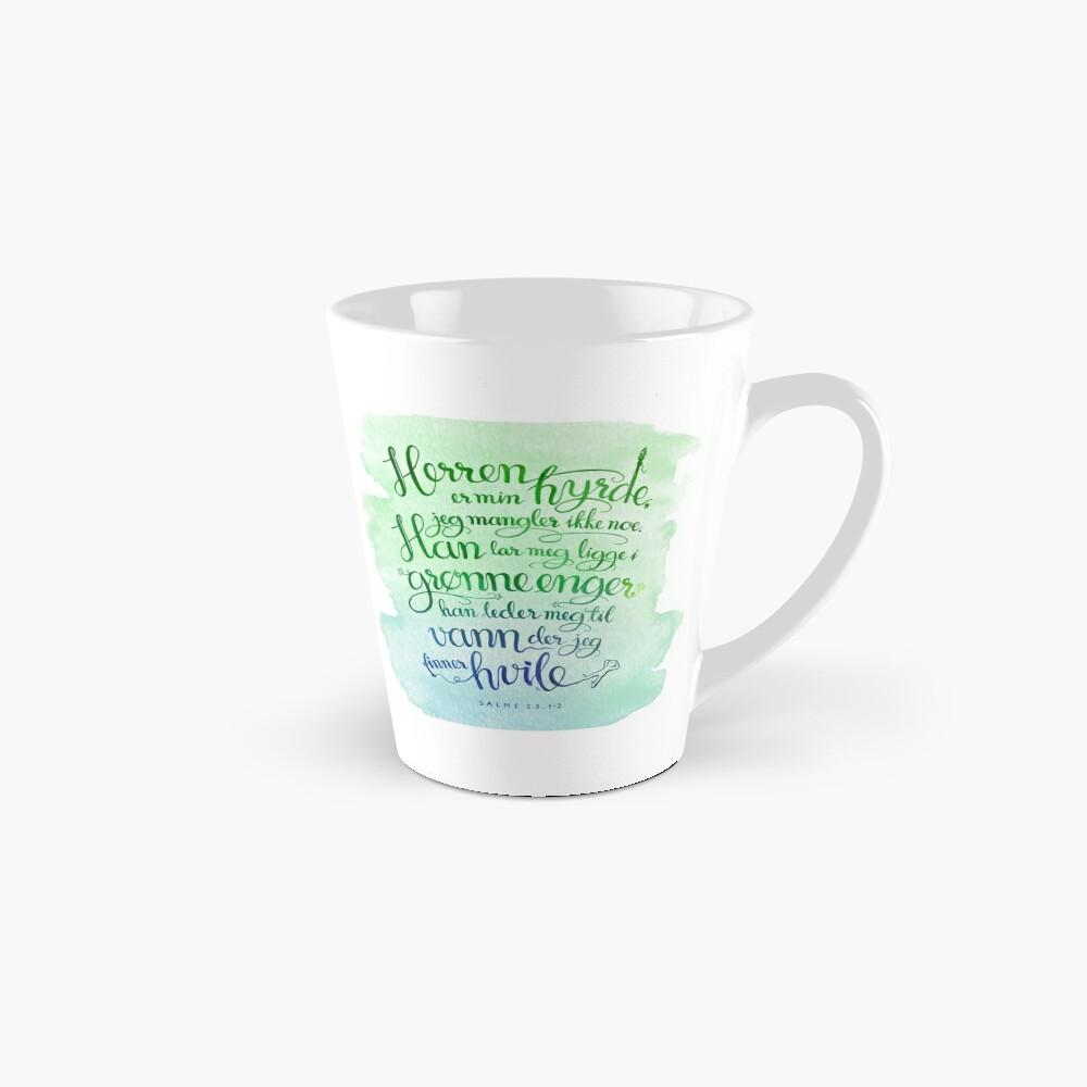 Herren er min hyrde Tall Mug