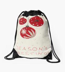 Baubles, by Enza Stellato Drawstring Bag