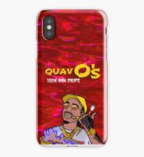 QuavO's Cereal (RED) iPhone Case/Skin
