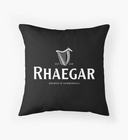 Rhaegar Guinness Logo Throw Pillow