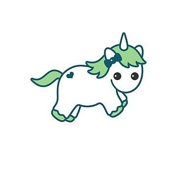 Funny Unicorn for Dad by sugarhai