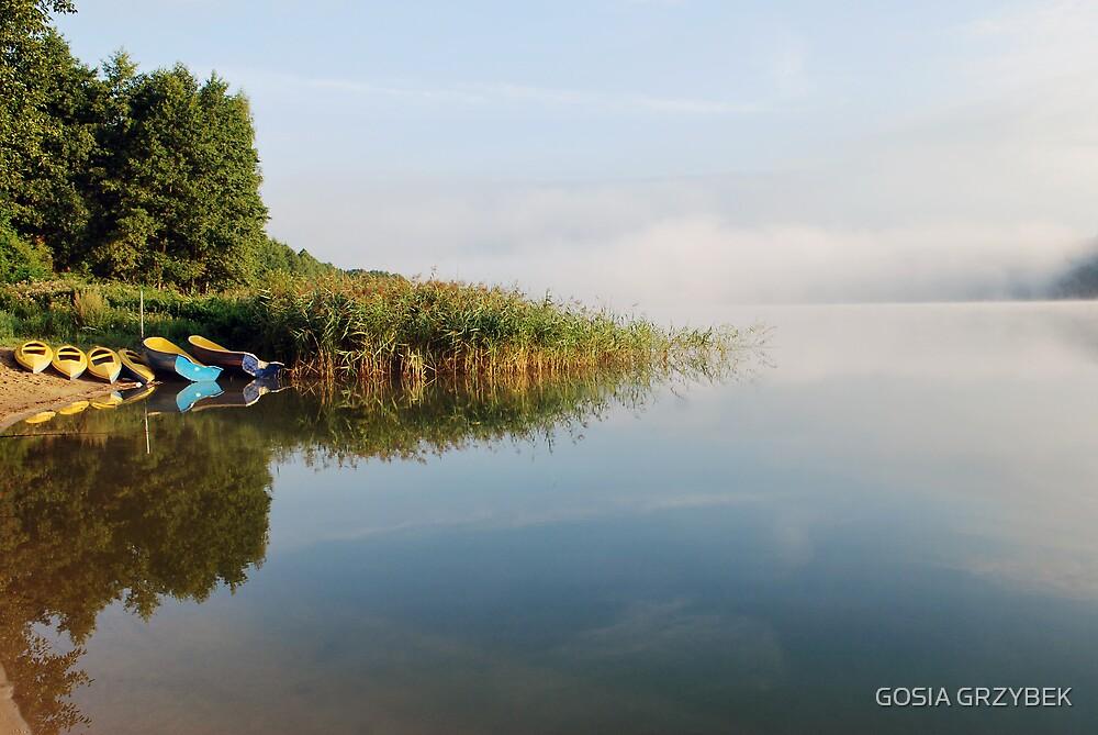 Mazury-  Lake Gilwa- Poland by GOSIA GRZYBEK