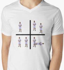 Camiseta de cuello en V LOSS.JPG x SABES QUE TENGO QUE HACERLO A EM