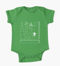 Montessori Doodles One Piece - Short Sleeve