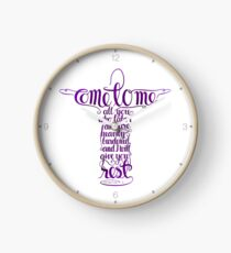 Come To Me Clock