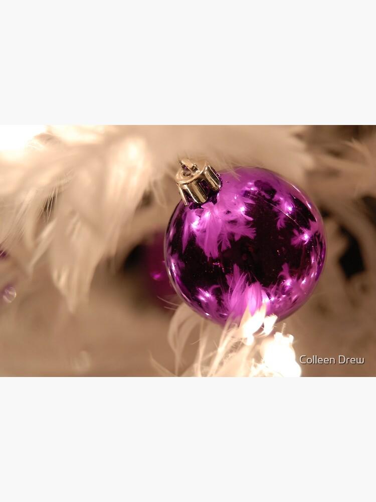 Purple & White by colgdrew