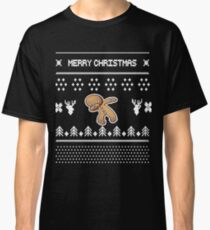 Dabbing Gingerbread Man Merry Christmas Dance Classic T-Shirt