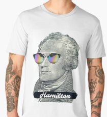 Alexander Hamilton in Shades Men's Premium T-Shirt