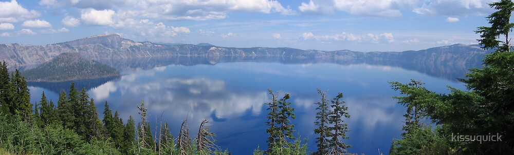 Crater Lake, Oregon  - Panorama 3 by kissuquick