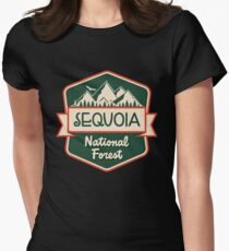 Sequoia National Forest Women's Fitted T-Shirt