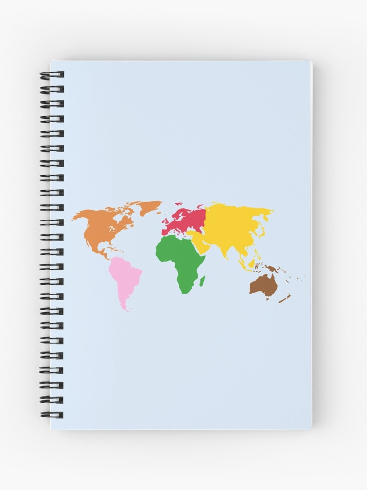 Montessori World Map | Spiral Notebook on imb world map, cn world map, uk world map, nj world map, dd world map, arizona world map, ne world map, ph world map, usvi world map, ca world map, un world map, aa world map, ap world map, kh world map, ae world map, dc world map, old world map, sc world map,