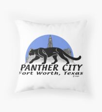 Panther City Throw Pillow
