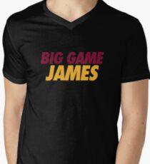 BIG GAME JAMES  Men's V-Neck T-Shirt