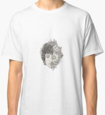 Dylan Classic Folk Rock Singer Musician Icon Nature Flowers Classic T-Shirt