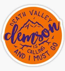 Clemson - Style 51 Sticker