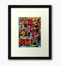 That Does It (Forever) Framed Print