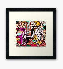 Cut It Out (Forever) Framed Print