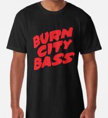Burn City Bass (Red) Long T-Shirt