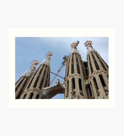 Gaudi Art #8 Art Print