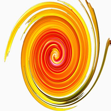 Swirl Long Sleeve by misnetcha