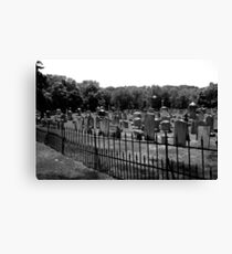 Haunted Union Cemetery Canvas Print