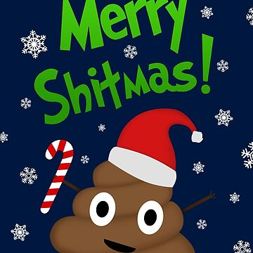merry christmas poo by TM490