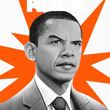 Da Rock Obama by bluelabel