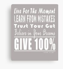 Inspirational Quote Canvas Print