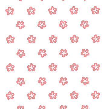 flower pattern 2 by inudoggy