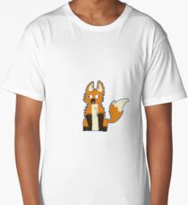 brooklynne's derpy foxes Long T-Shirt