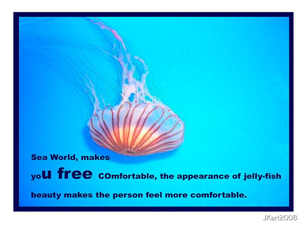 JELLY FISH - PHOTO BY JK by JKart2008