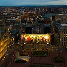 Glasgow by night by Brian Canavan