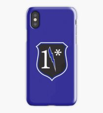 One Asterisk Police Left Chest iPhone Case/Skin