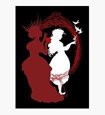 Snow White and the Queen Photographic Print