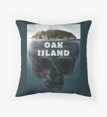Oak Island Nova Scotia Canada Throw Pillow