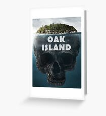 Oak Island Nova Scotia Canada Greeting Card