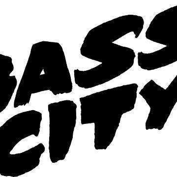 Bass City (Black) by djctoafn