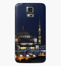 Blue Mosque at Night Case/Skin for Samsung Galaxy